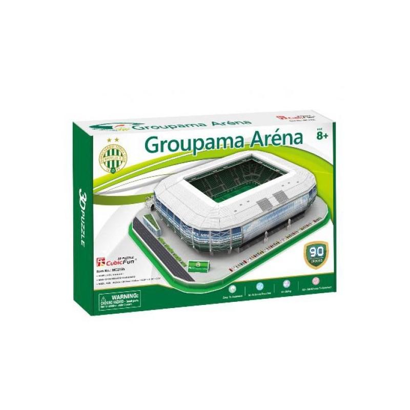 3D puzzle - Groupama Aréna